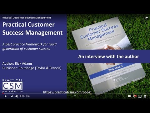 Book: Practical Customer Success Management. An Interview With The Author