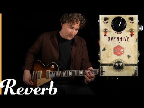 Beetronics Overhive Medium Gain Overdrive | Reverb Demo