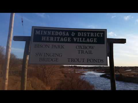 Minnedosa hydro dam and trail.