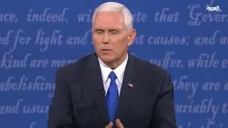 المرشحان لمنصب نائب الرئيس الأميركي يخوضان مناظرة حامية