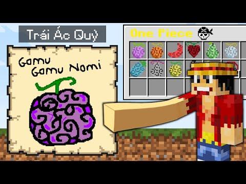 Minecraft Bedwars, Nhưng Vẽ Trái Ác Quỷ One Piece Được Vũ Khí Và Giáp Siêu Vip Troll Noob Team ??