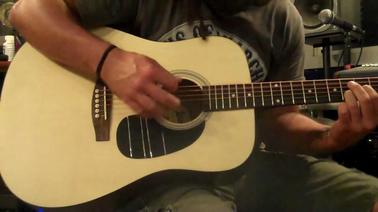 Clark Walker reviews Cheap Lauren Natural Acoustic Guitar SOUNDS