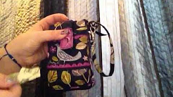 Will the Vera Bradley hard iPhone case fit in the Carry it All Wristlet