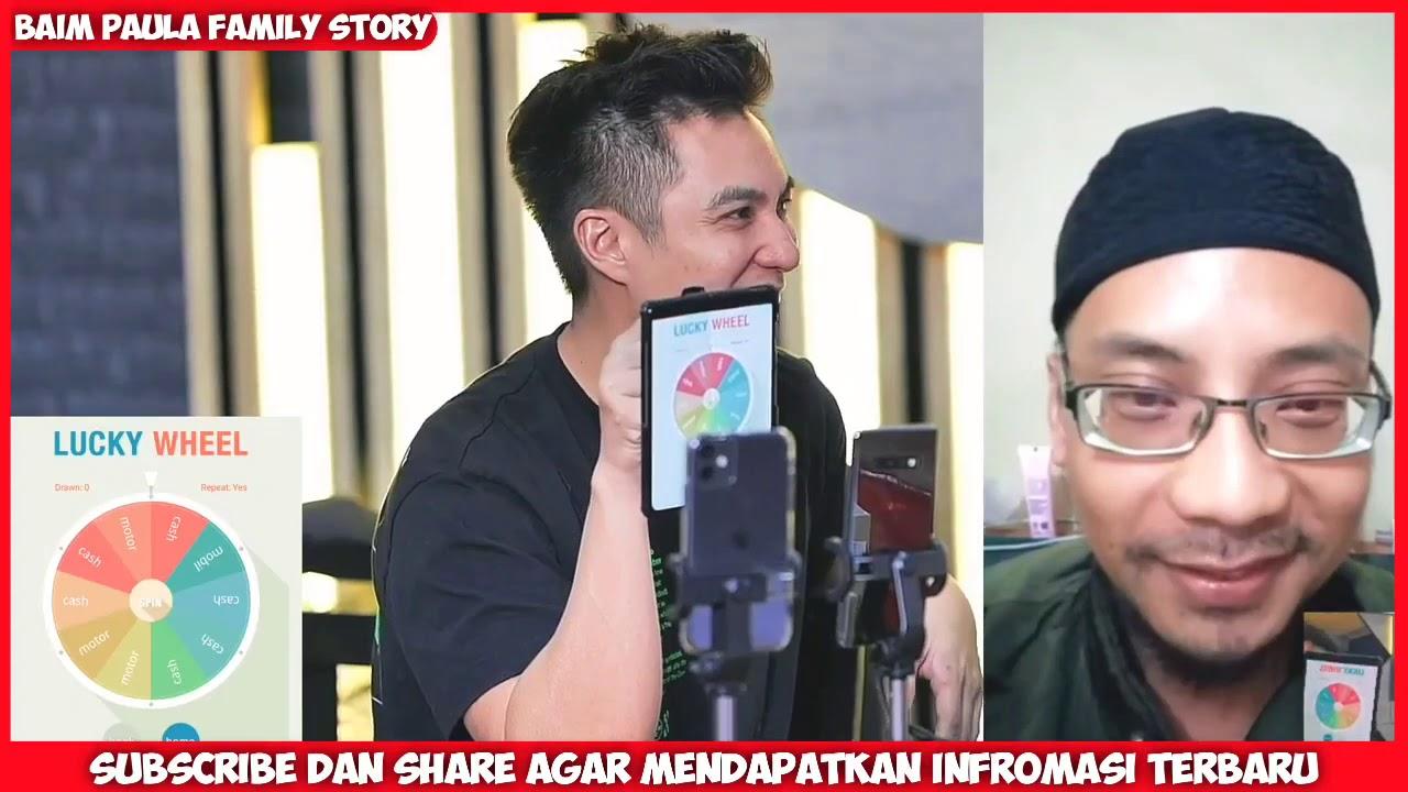 DETIK DETIK PRIA INI DAPAT HADIAH HANDPHONE + UANG 1 JT RUPIAH DARI BAIM WONG