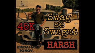 SWAG SE SWAGAT SONG BEST DANCE CHOREOGRAPHY | TIGER ZINDA HAI | HARSH NAYAK | STEP UP DANCE CREW
