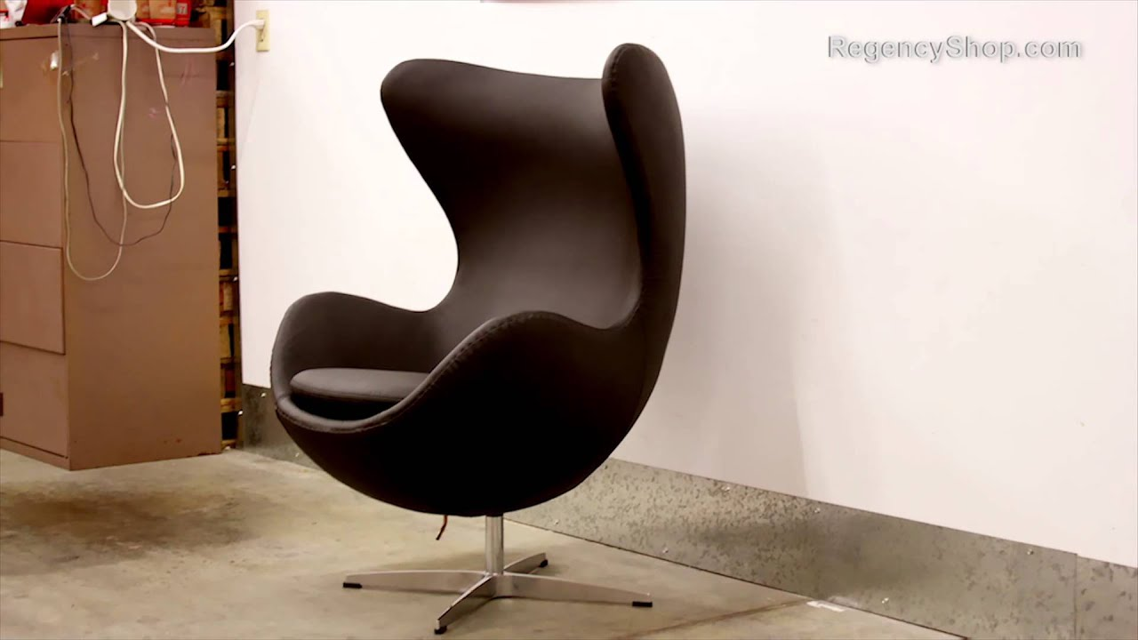 Arne jacobsen egg chair fast easy for How to make an egg chair