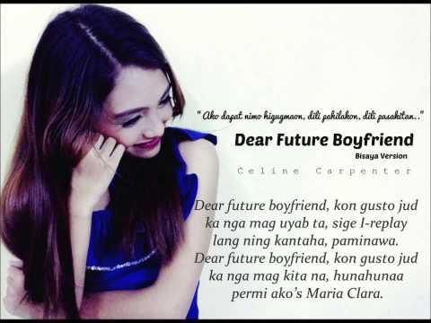 Dear future boyfriend by Celine Carpenter