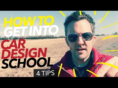 How to Get Into Car Design School