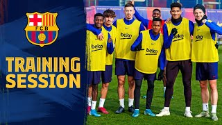 The last training session of 2019