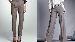 видео С чем носить льняные брюки женские и мужские, фото