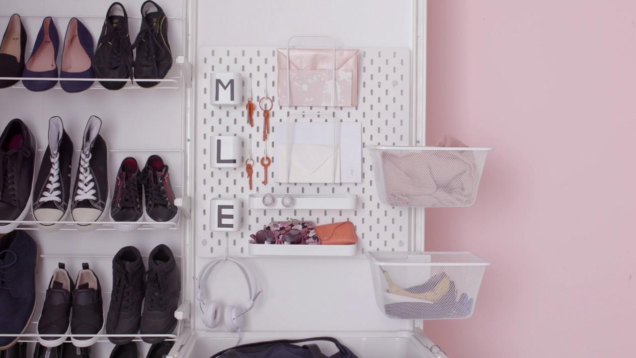 Ikea Gardarobe Im Flur Und Eingangsbereich Organisieren Youtube