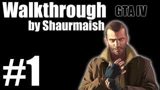 GTA IV - Прохождение - Миссия 1 - The Cousins Bellic