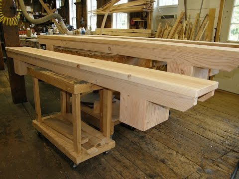 Making School Classroom Benches