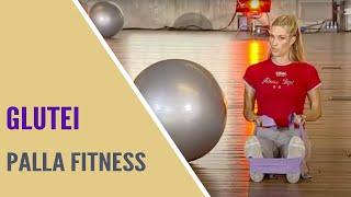 Jill Cooper - 9 min Glutei con palla e elastico