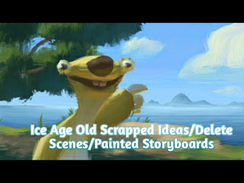Download Ice Age Old Scrapped Ideas/Delete Scenes/Painted Storyboards