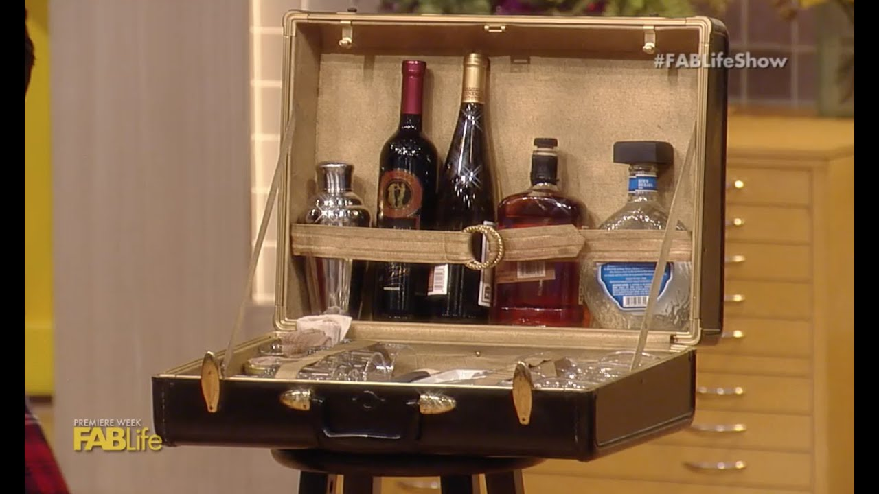 Diy Bar Suitcase Youtube