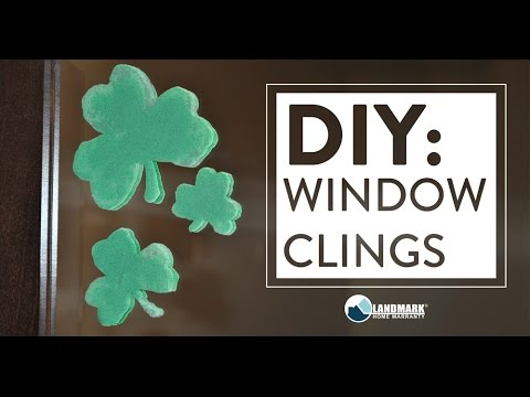 diy make your own window clings youtube