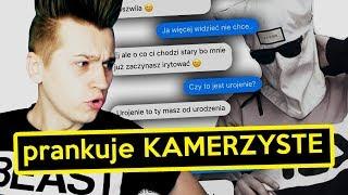 """Prankuje KAMERZYSTE tekstem piosenki """"KIM  TY JESTEŚ"""""""