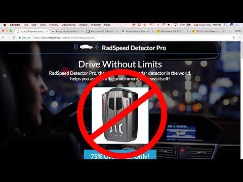 RadSpeed Detector Pro
