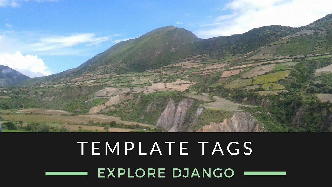 Explore Django - Template Tags - YouTube