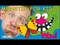 Monster for Kids + MORE Magic English Stories for Children by Steve and Maggie from Wow English TV