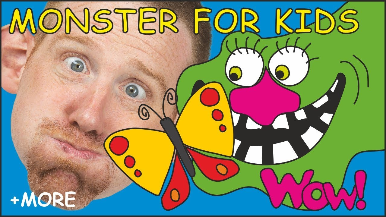 89a5a0e5 Monster for Kids + MORE Magic English Stories for Children by Steve and  Maggie from Wow English TV