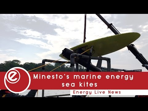 Minesto unleashes marine energy sea kites | Energy Live News