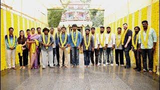 Actor Sivakarthikeyan's 14th Movie Pooja with 24 AM Studios