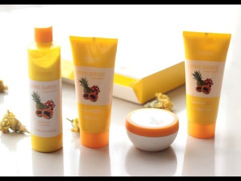 429e4525a7 Oriflame Tropical Fruits Facial Kit Review - YouTube