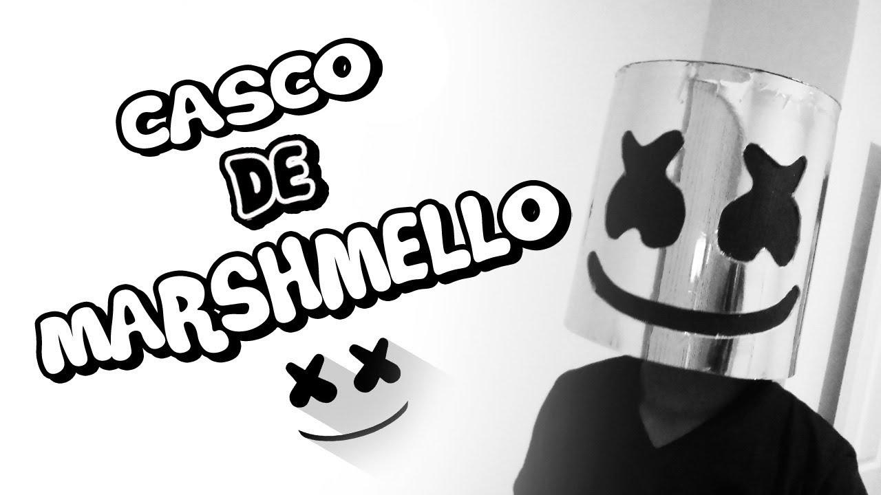Como Hacer El Casco De Marshmello Casero Epic Cosplay