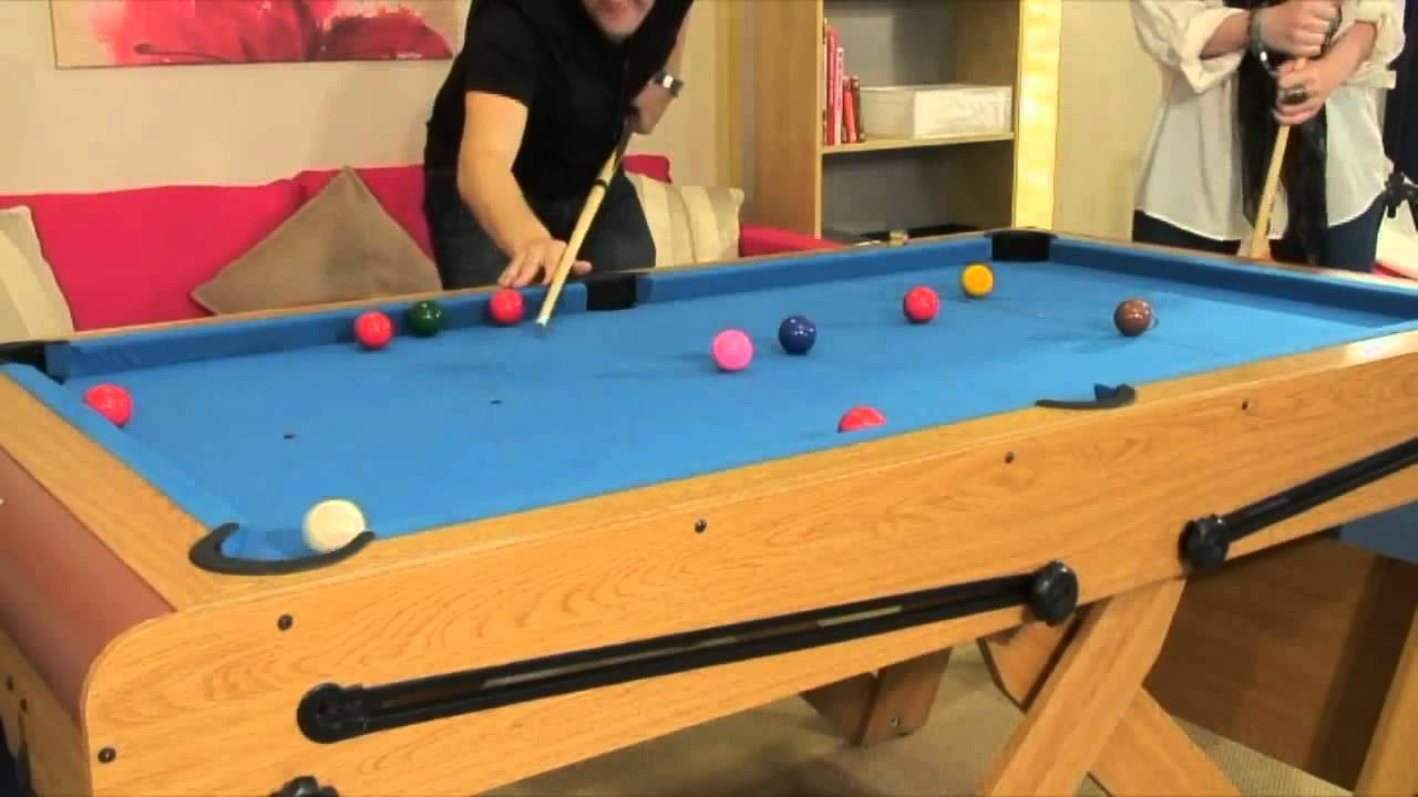 Www.topofthecue.com   RILEY 6ft W Leg Snooker Table/Pool Table  FSPW 6    YouTube