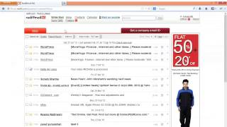 Www.rediffmail.com login explained step by step