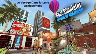 Goat Simulator PayDay DLC (Xbox) Le Voyage Dans La Lune Achievement Guide