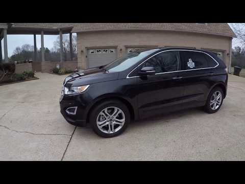 West TN 2015 Ford Edge Titanium AWD Tuxedo Black Metalic 4k Miles Loaded for sale info www sunsetmot