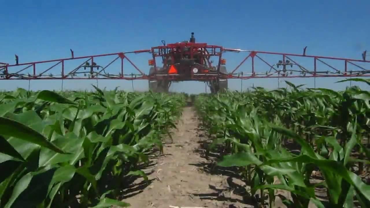 John Deere For Sale >> Side Dressing Corn SPX3320 Drop Hoses - YouTube