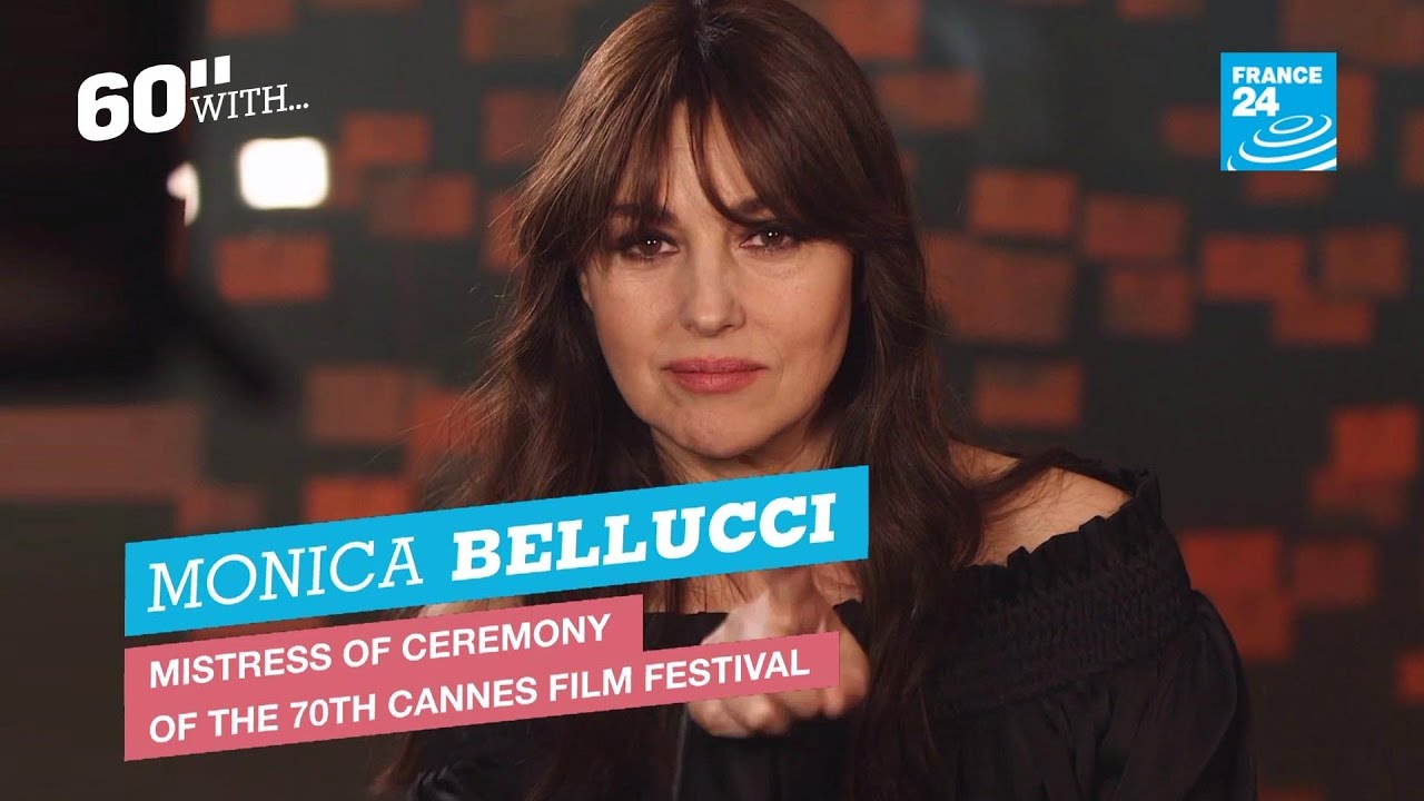 Amanda Belluci cannes 2017: 60 seconds of glamour with monica bellucci