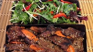 Grilling Bulgogi-korean Bbq Beef-korean Food Recipes-asian Salad Dressing