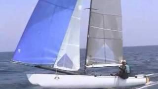 Tornado catamaran blast