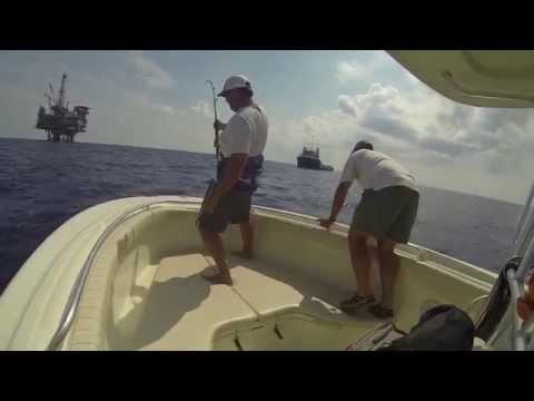Tuna Fishing Petronas Rig Orange Beach July 2014