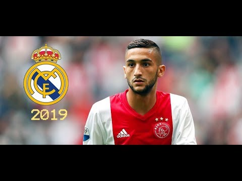 Hakim Ziyech 2019 Welcome To Real Madrid Moroccan Magician