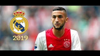 Hakim Ziyech 2019● Welcome To Real Madrid● Moroccan Magician | Skills Show