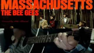 ♪♫ Massachusetts By The Bee Gees (Easy Acoustic Guitar Visual Lesson / Cover)