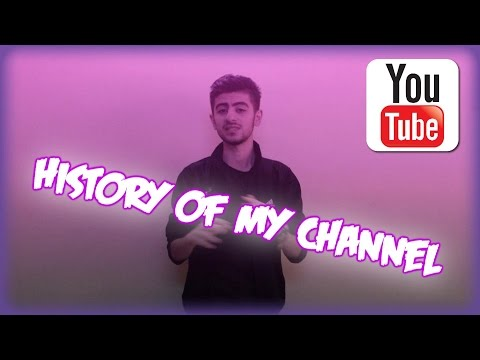 History of my channel & some info for YouTubers :)