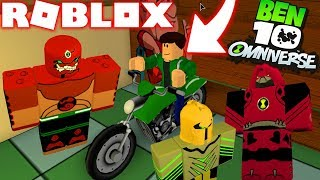 ROBLOX! -BEN 10 NEUE OMNITRIX OMNIVERSE ALIENS UND ALIEN FORCE-INCREDIBLE BEN 10 SIMULATOR