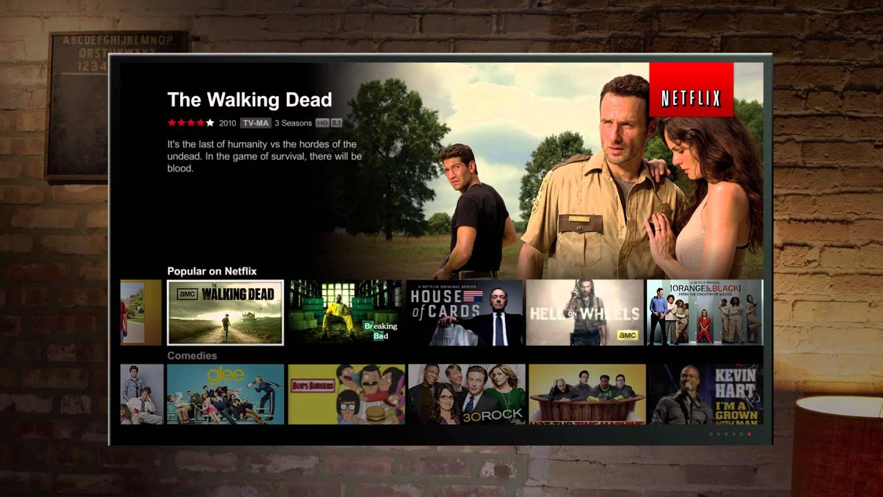Walking Dead op Netflix