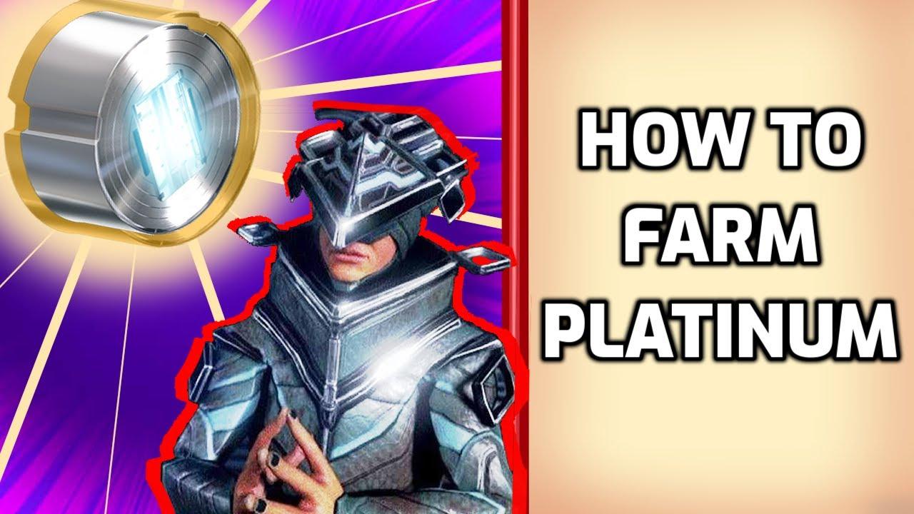 How to farm Platinum - Warframe guide 2020 thumbnail