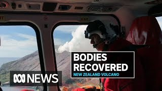 NZ military launches mission to White Island volcano to bring back tourists' bodies | ABC News