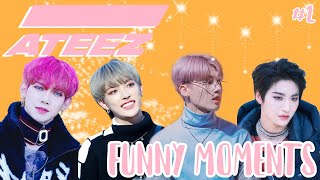 Ateez funny moments #2