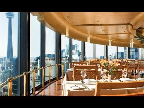The Westin Harbour Castle Restaurant With View Of Toronto Downtown