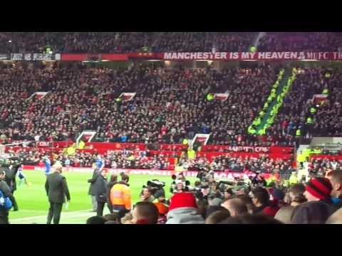 Ole Gunnar Solskjaer and Mata in Old Trafford